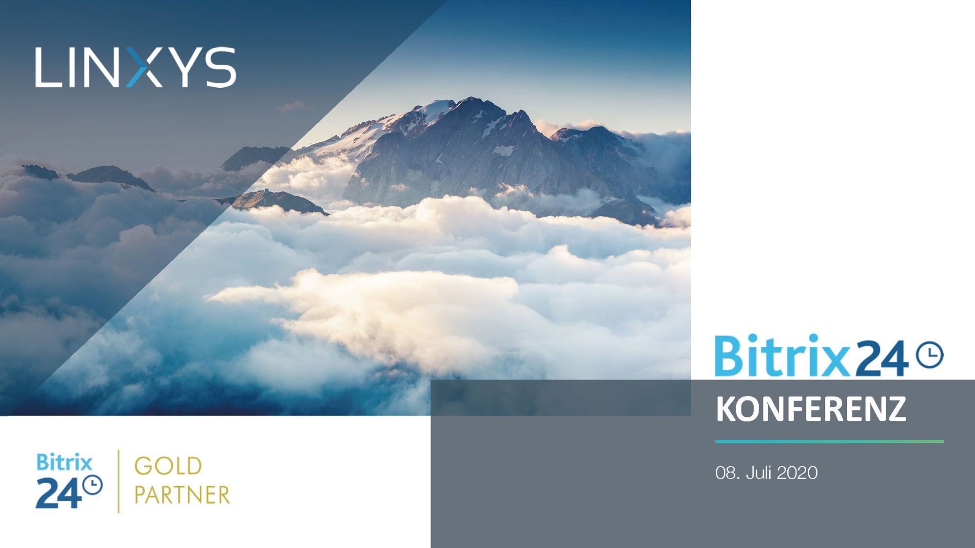 Bitrix24 Konferenz LINXYS Präsentation